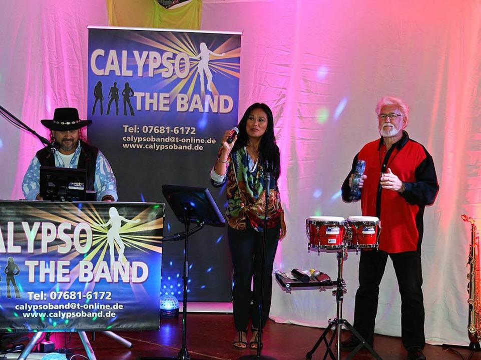 Die Calypso Band spielte am Samstagabend  | Foto: Karin Heiß