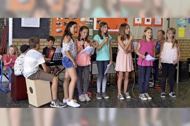 130 Kinder präsentieren spannende Projekte