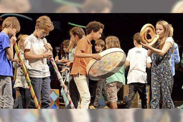 Klong-Kindermusikfest im Theater