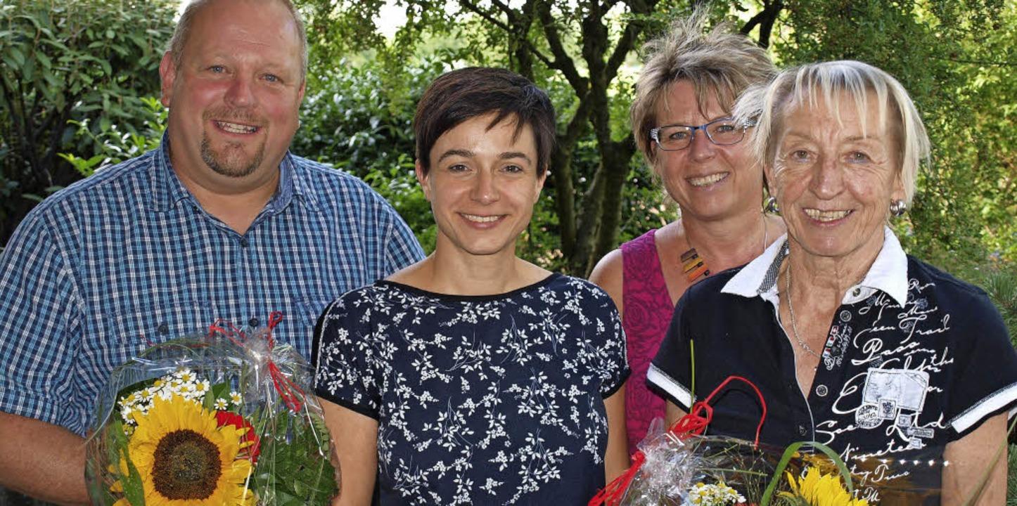 AWO-Kreisvorstand: Michael Schröder, J...tschmann und Hannelore Nuß (von links)  | Foto: Schleer