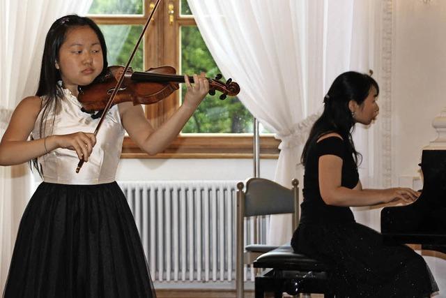 Eine bemerkenswerte Violinistin