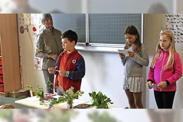 Grundschüler auf Entdeckungstour