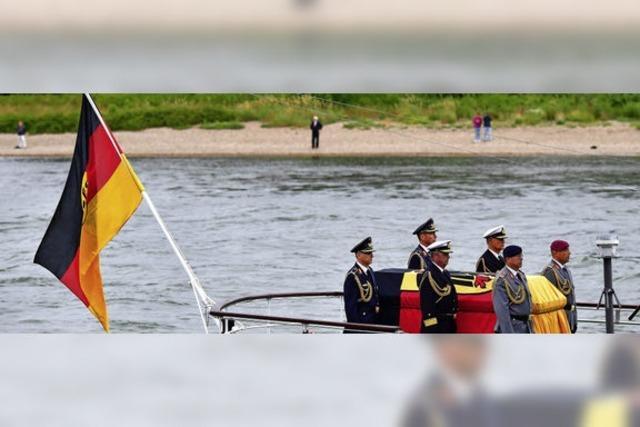 Helmut Kohls letzte Reise war so ungewöhnlich wie sein Leben und Werk