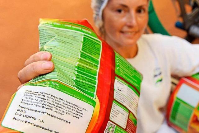 Portionsangaben auf abgepackten Lebensmitteln stimmen oft nicht
