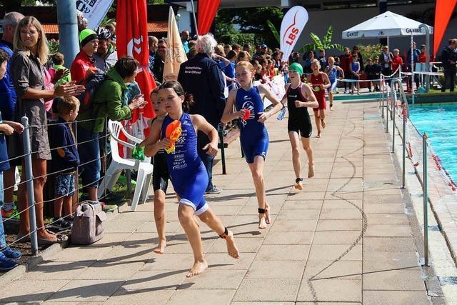 Triathlon mit Rekordbeteiligung