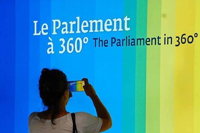 Infoangebot: Wie funktioniert das Straßburger Europa-Parlament?