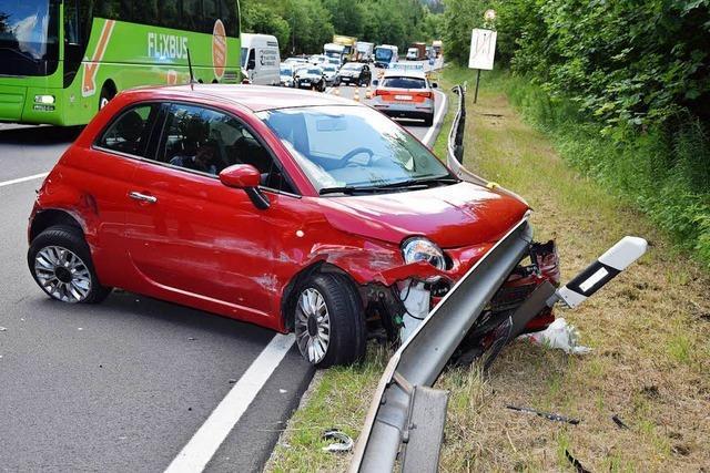 24-Jährige bei Unfall auf B 31 verletzt