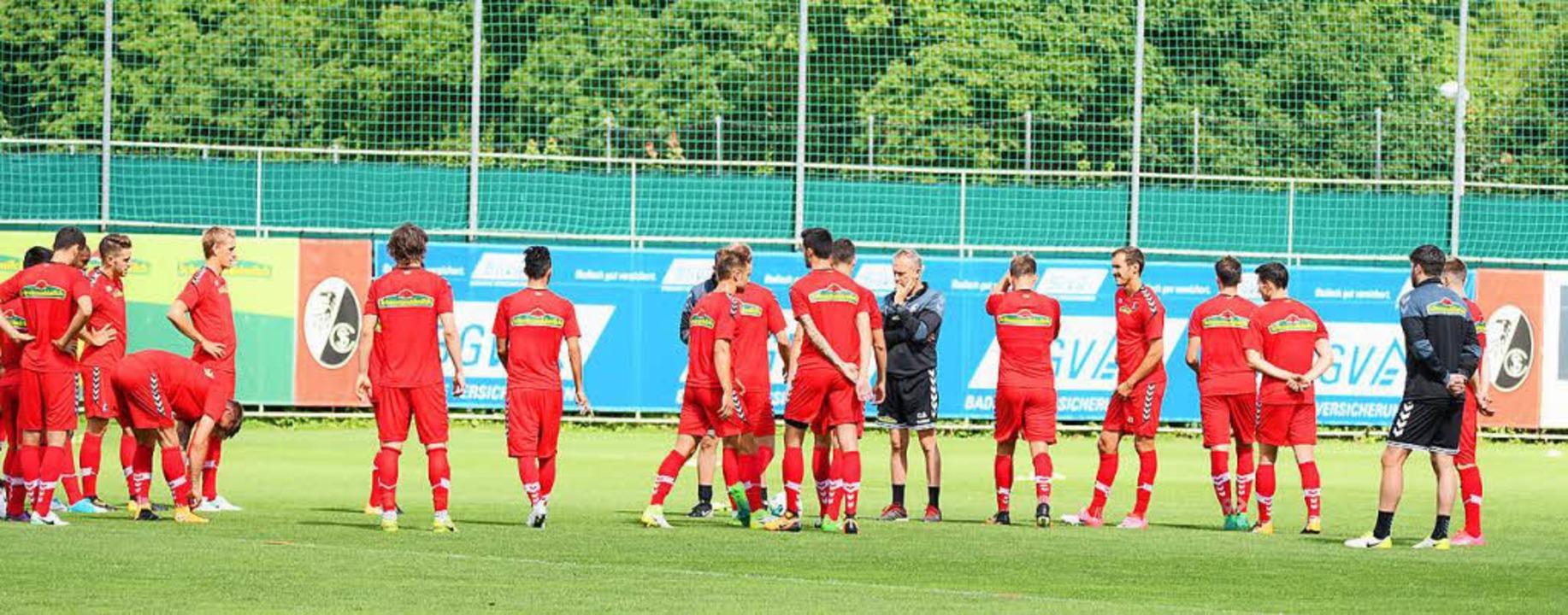 Trainingsauftakt beim SC Freiburg    Foto: Achim Keller