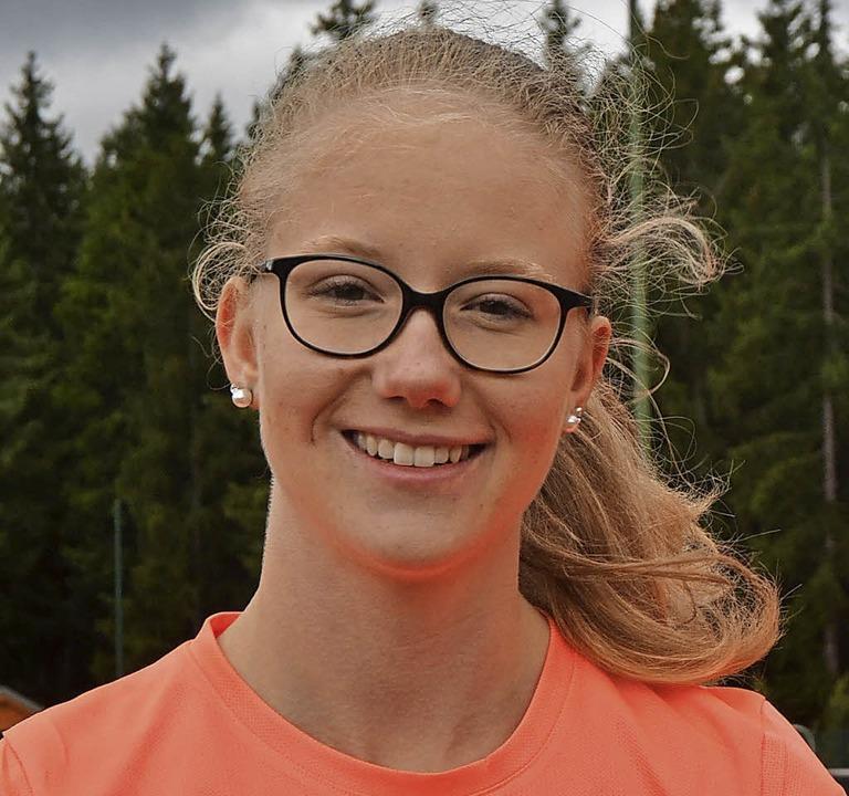 Sarah Ziegler  vom TV Lenzkirch gewann in Eisenbach vier Titel.  | Foto: Helmut Junkel