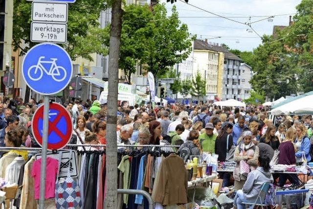 Beim Habsburgerstraßenfest war richtig viel los
