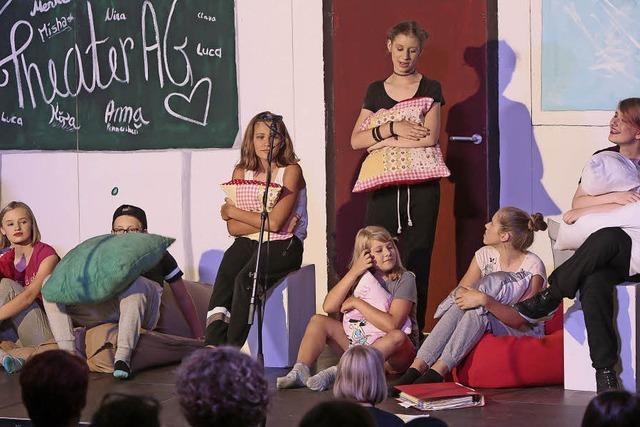 Eine kleine verrückte Theater-Familie
