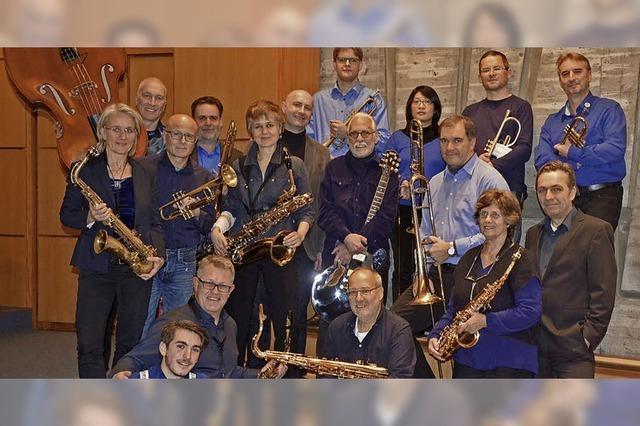 Blue Note Jazz Orchestra von Gareth Reaks in der Friedenskirche