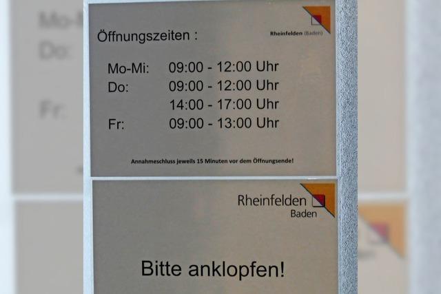 Ausländerabteilung in Rheinfelden soll Willkommensbehörde werden