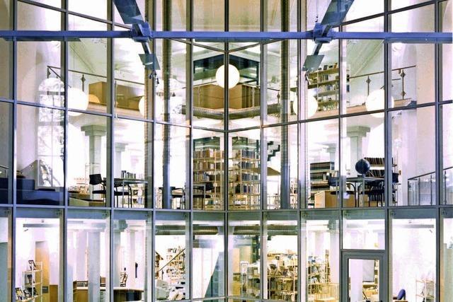 Die Stadtbibliothek wird 90