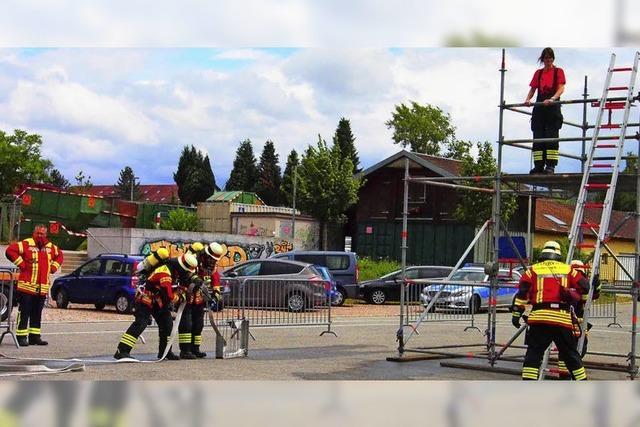 Feuerwehren in Aktion