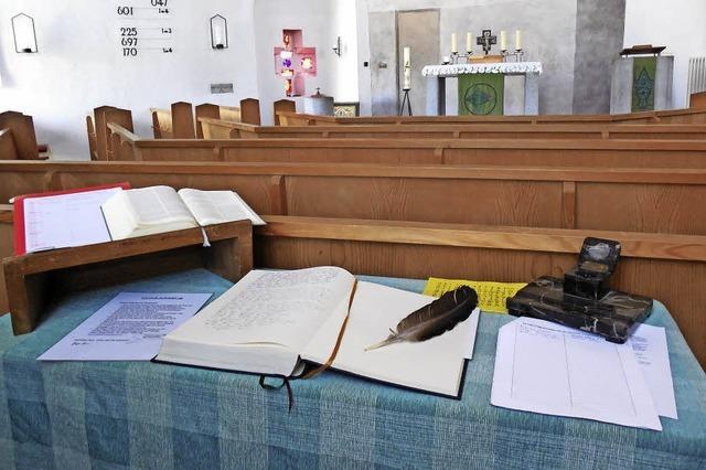 Das neue Testament in handschriftlicher Kopie