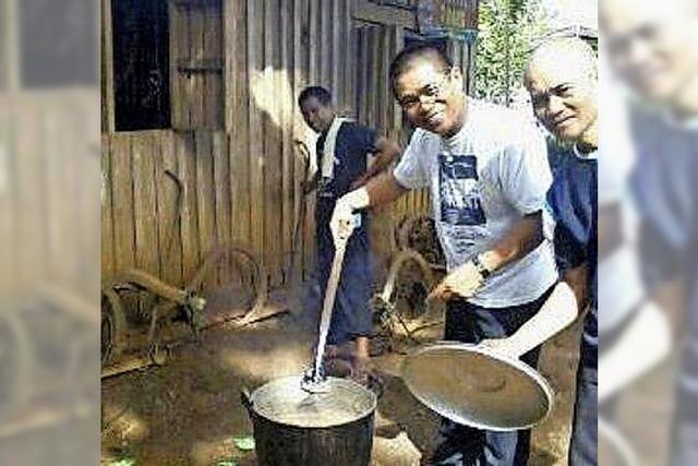 Ferienvertretung von den Philippinen