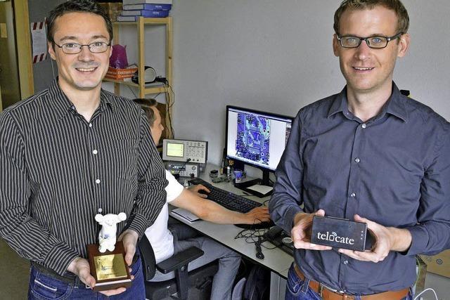 Freiburger Start-up-Firma Telocate wird für seine Indoor-Navigation ausgezeichnet