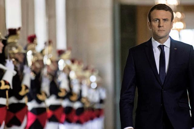 Macron macht es wie die US-Präsidenten