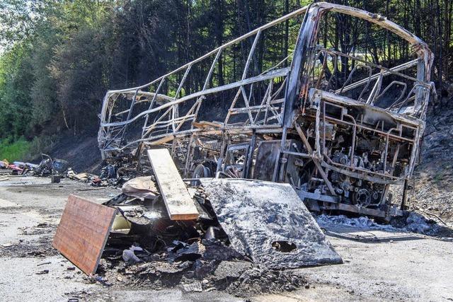 Bus-Reise endet im Inferno