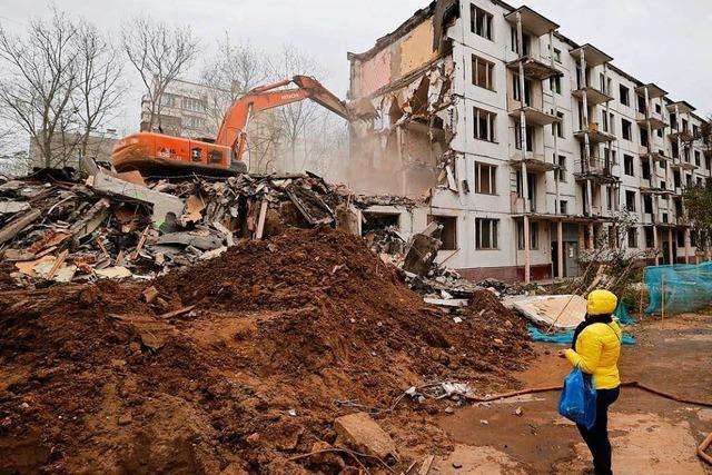 In Moskau geht die Angst vor dem Abrissbagger um