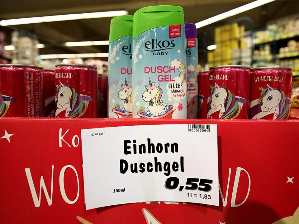...als Duschgel oder Getränk    Foto: dpa
