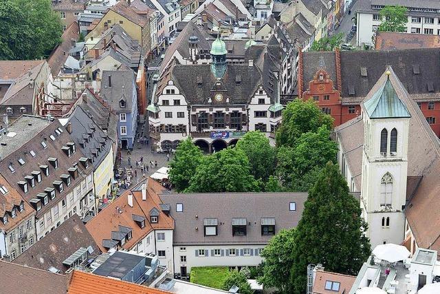 Die Stadt Freiburg ist jetzt auch auf Facebook