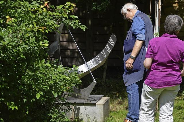 Ein Garten der Skulpturen