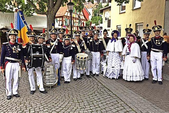 Bürgerwehr bereichert Mittelalterfest