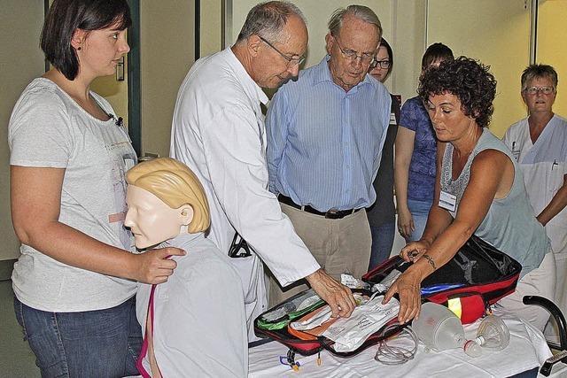 Förderverein leistet fürs Krankenhaus erste Hilfe