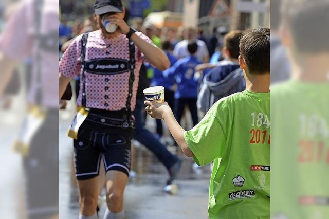Marathon von Läufern für Läufer