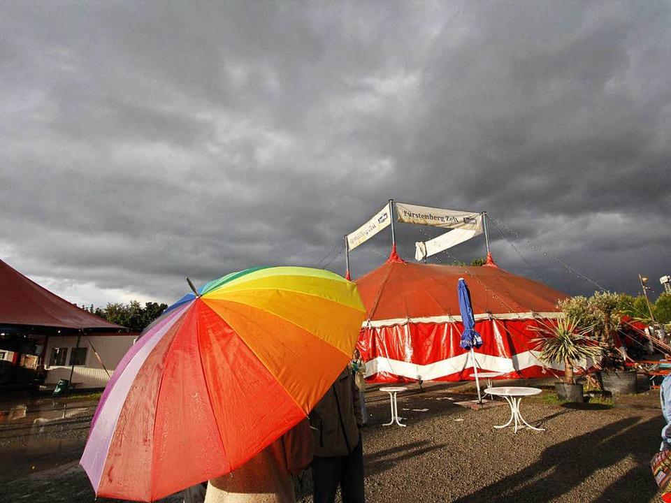 Festivalstart in Sicht! Das erstaunlic... unterdurchschnittlich  geregnet hat.   | Foto: Wolfgang Grabherr