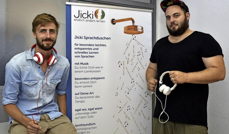 Helge Straube und Jonas Al-Nemri (von links)     Foto: Thomas Kunz