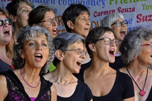 Geballte Sing-Energie zieht magisch an