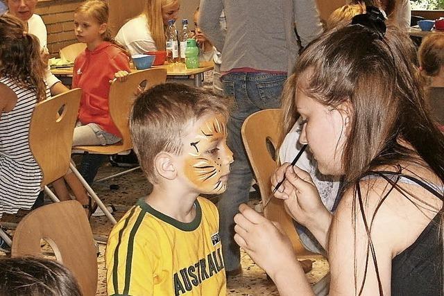 Ein tierisches Schulfest