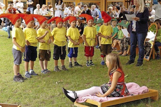 Ein märchenhaftes Fest im Kindergarten