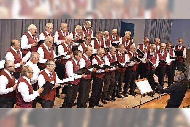 Chöre der Gruppe Hochschwarzwald in Breitnau
