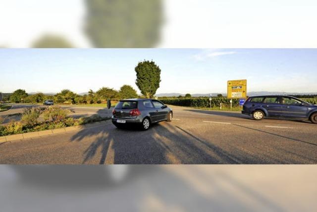 Ampel soll Verkehr abhalten