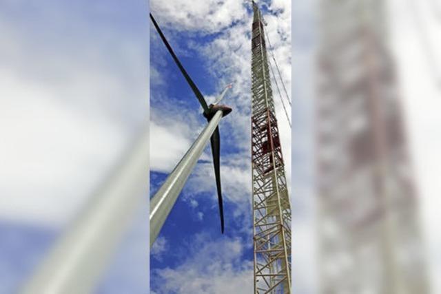 Bald drehen sich 39 große Windräder