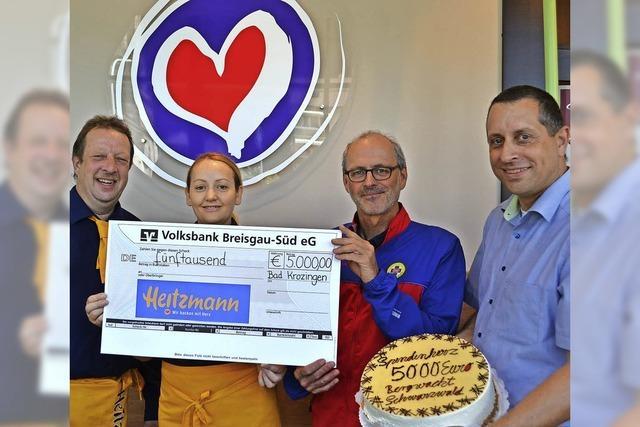 Spenden versüßen die Rettungsarbeit