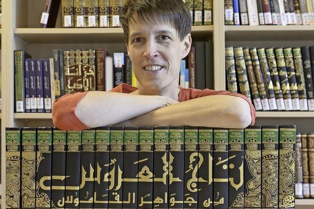 Nadja Germann erklärt arabische Philosophie