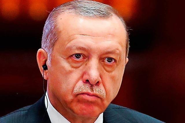 Vor dem Gipfel: Erdogan kritisiert Redeverbot