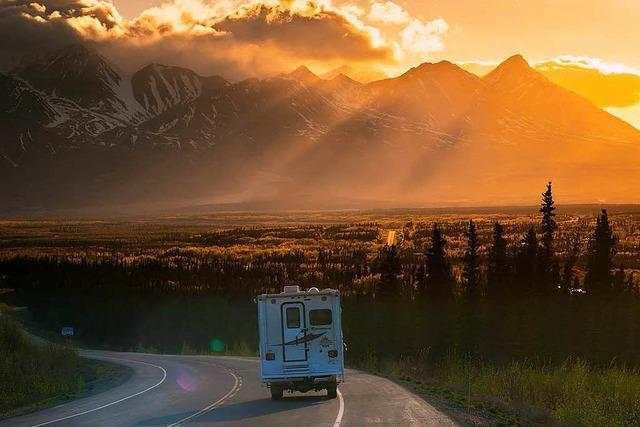 Mit dem Wohnmobil über den Alaska Highway