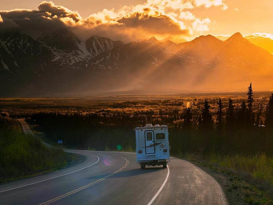 Ein Traum für Wohnmobilisten: der Alas...hier im Kluane National Park im Yukon.  | Foto: BIRGIT-CATHRIN DUVAL bcmpress