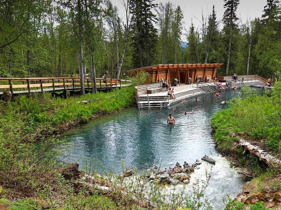 Luxus für fünf Dollar: Liard Hot Springs, eine heiße Quelle mitten im Wald  | Foto: BIRGIT-CATHRIN DUVAL bcmpress