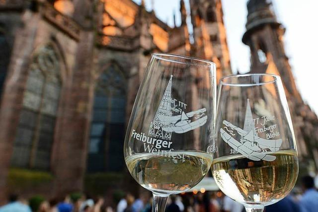 Am heutigen Donnerstag startet das Freiburger Weinfest