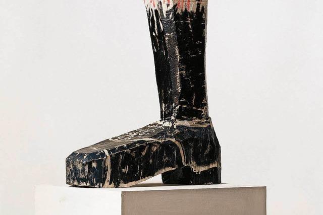 Baselitz, Richter, Balkenhol in der Ausstellung