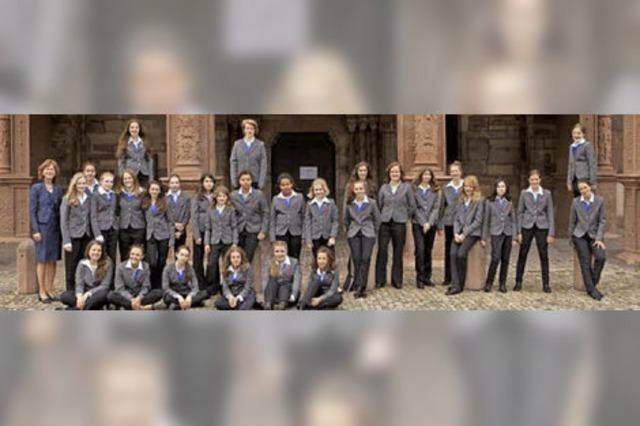 Mädchenkantorei Freiburg in St. Blasien