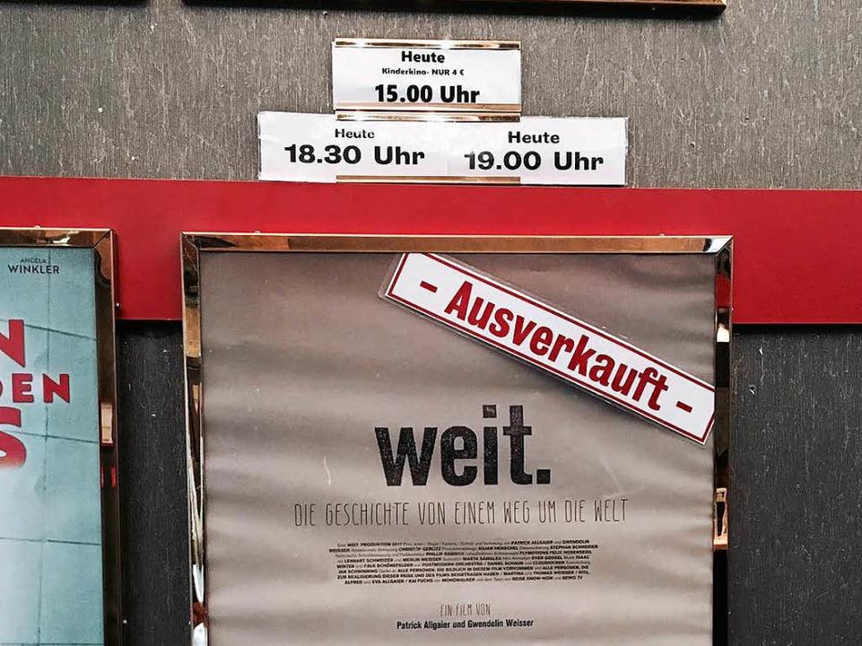 Nicht nur in Karlsruhe waren die Vorführungen komplett ausverkauft.  | Foto: Gwen Weisser