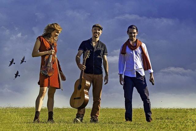 Das Tanino Trio stellt ihre neue CD vor